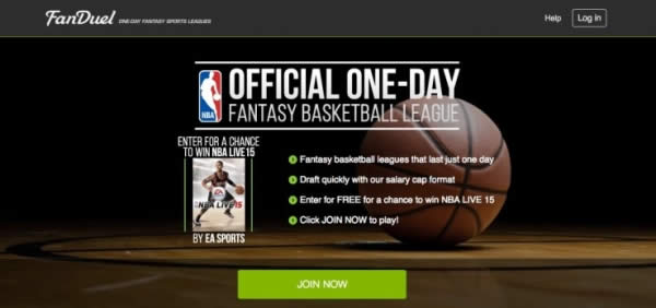 FanDuel - Official Fantasy Game of the NBA